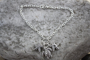 Sea Creatures Anklet