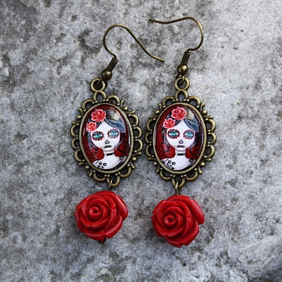 Little Zombie Girl Earrings