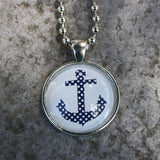 Charming Nautical Pendant Necklace Set