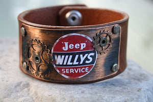 Willy's Leather Cuff Bracelet