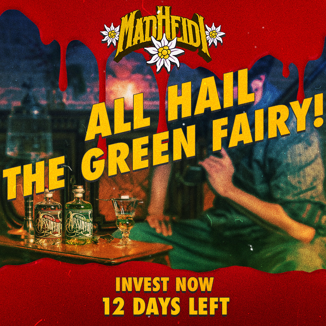 12 DAYS LEFT - ALL HAIL THE GREEN FAIRY