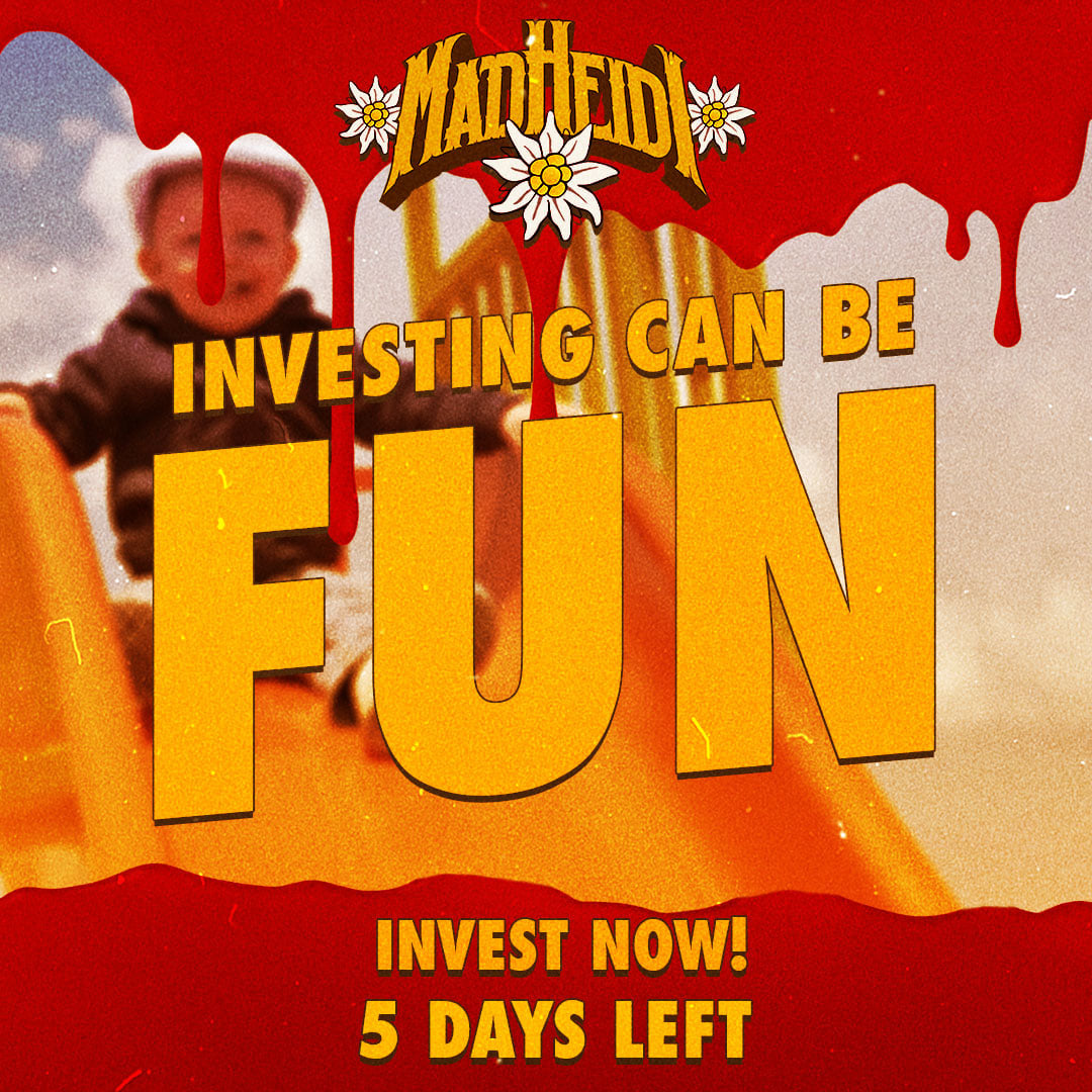 5 DAYS LEFT - INVESTING CAN BE FUN