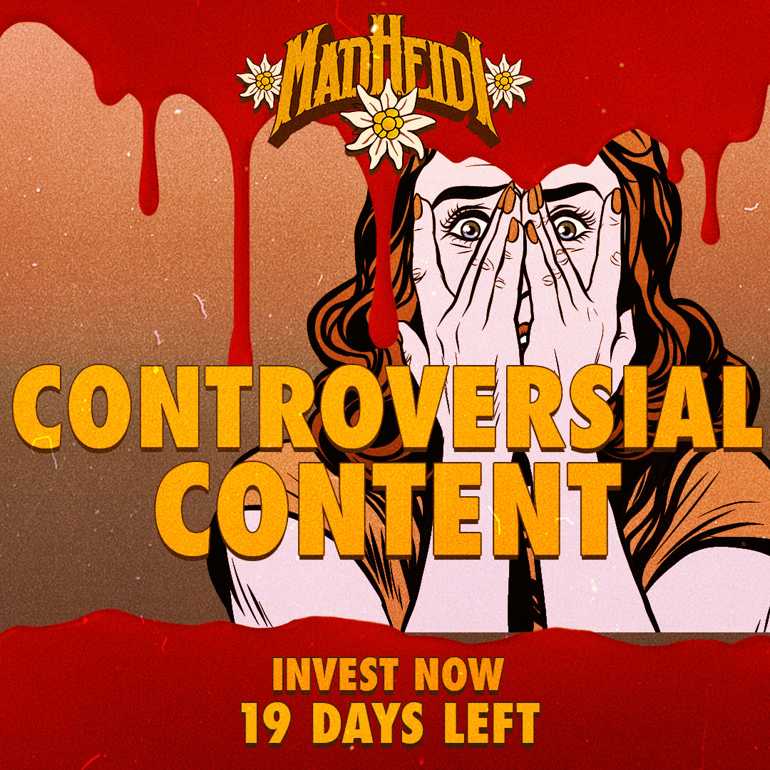 19 DAYS LEFT - CONTROVERSIAL CONTENT
