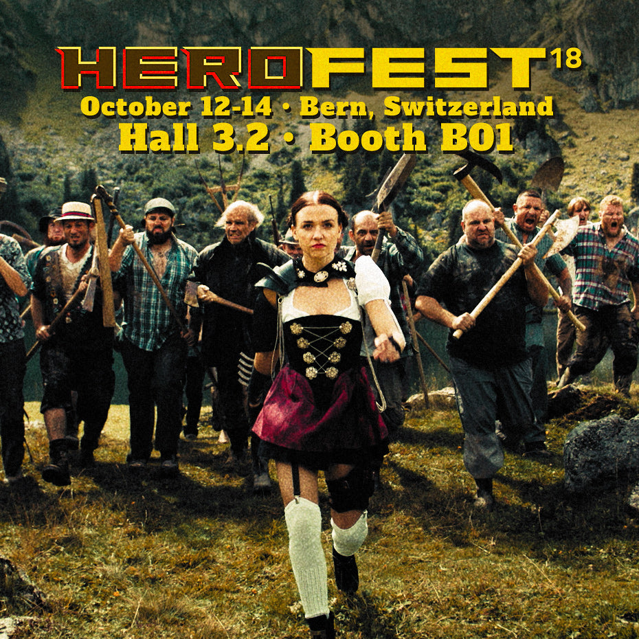 MAD HEIDI at HeroFest