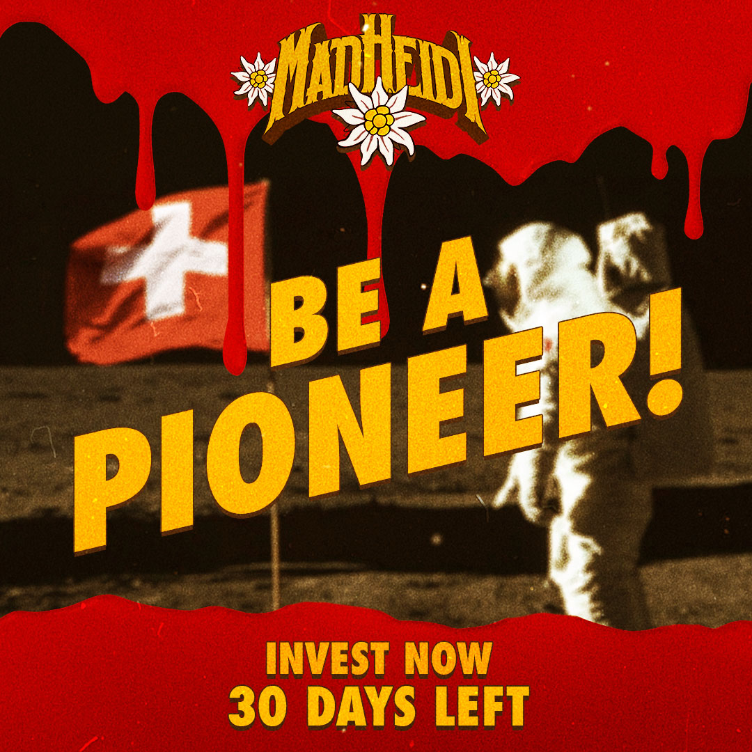 30 DAYS LEFT – BE A PIONEER!