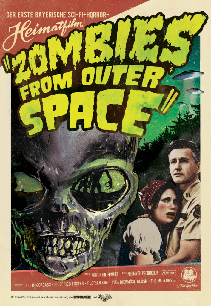 Zombies from Outer Space poster artwork
