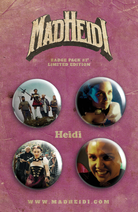 Button Pack #1 – Heidi