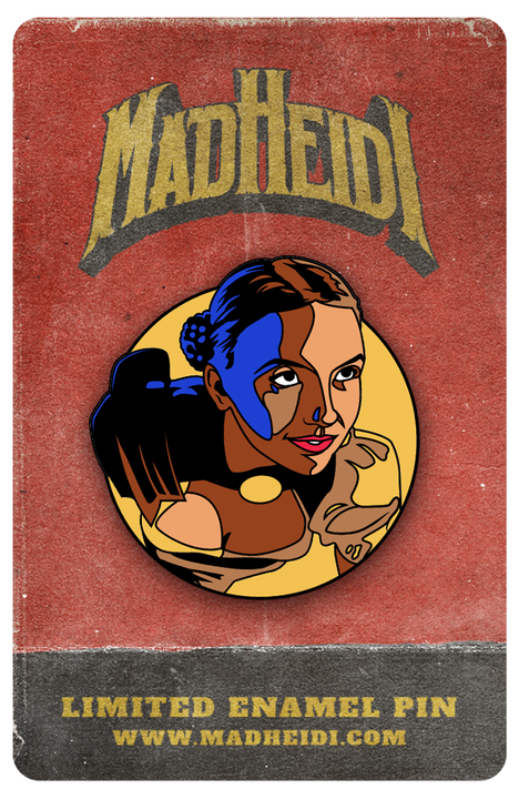 Collector's Pin #1 – Heidi