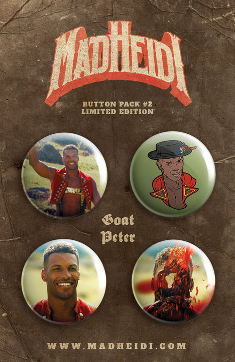 Button Pack #2 – Goat Peter