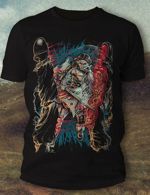 Soldier Split T-Shirt