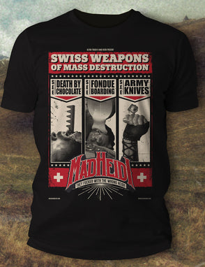 Swiss Weapons of Mass Destruction T-Shirt