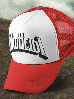 Mad Heidi Trucker Hat (red)