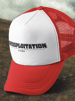 Swissploitation Trucker Hat (red)