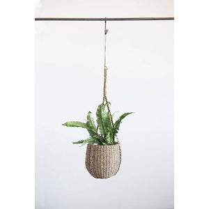 Hanging Seagrass Basket