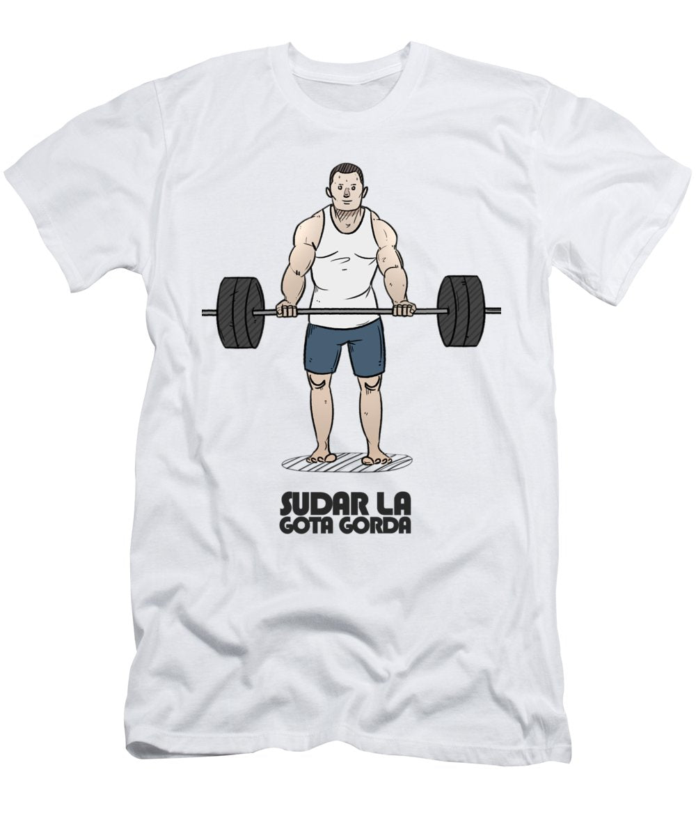Lift Man - Men's T-Shirt (Athletic Fit)