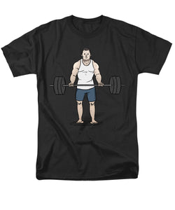 Lift Man - Men's T-Shirt  (Regular Fit)