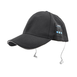 Unisex Bluetooth Hat Cap Sport Cap with MIC Handfree Answering Call For Mobile Phone