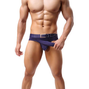 Sexy Mens Breathe Underwear Briefs Bulge Pouch Shorts Underpants BK L