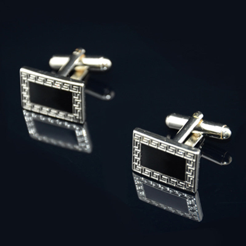 Disu Retro Cufflinks Suit Lapel Men's Wedding Party Gift Cuff Link