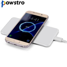 POWSTRO Qi Standard Smart Phone Charger 5V/ 2A Adapter Receptor Coils Qi Wireless Charging Pad For Qi Enable Devices For Phone