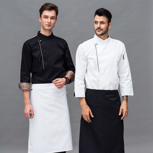 Chef Uniform Workwear Men and Women Unisex Long Sleeve