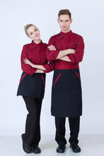 long sleeve restaurant uniforms for cooks womens personality zip discount chef clothing mens cotton chef jackets