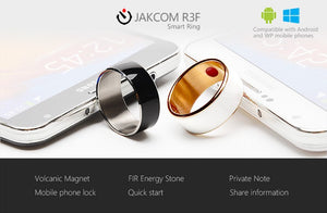 R3F Fashion NFC Smart Ring Band Bluetooth Magic jewelry For Android Men's Ring