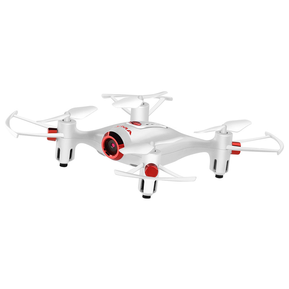 X20W Mini Headless Quadcopter RC Pocket Drone with 0.3MP Camera for Beginner
