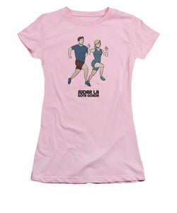 Running - Women's T-Shirt (Athletic Fit)
