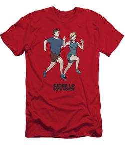 Running - Men's T-Shirt (Athletic Fit)