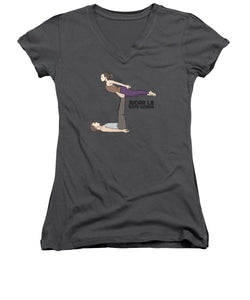 Yoga - Women's V-Neck (Athletic Fit)
