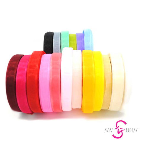 Sin Wah Online - 12mm Soft Organza Ribbon