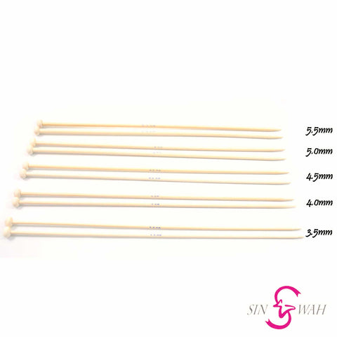 Sin Wah Online - Bamboo Knitting Needle