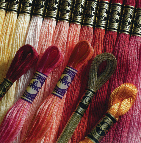 Sin Wah Online - DMC Cross Stitch Embroidery Thread - DMC MOULINÉ Stranded Cotton (Color Shades D)