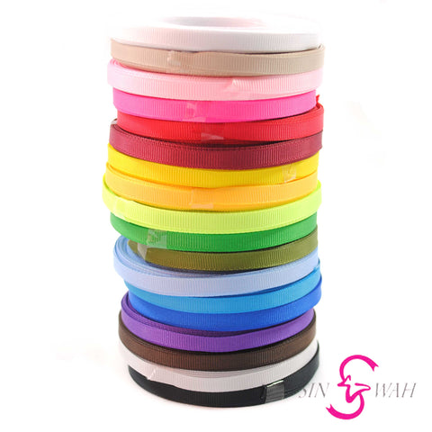 Sin Wah Online - 6mm Plain Grosgrain Ribbon