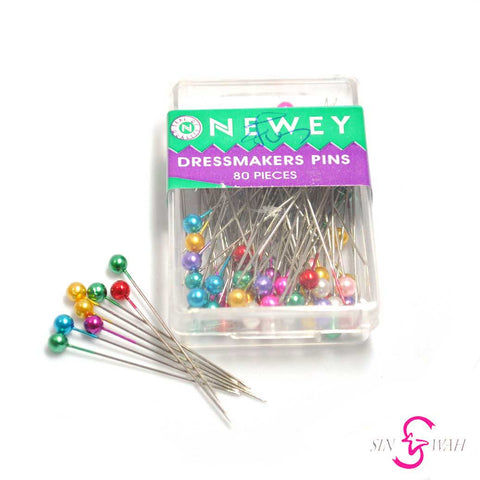 Sin Wah Online - Newey Colored Dressmakers Pins