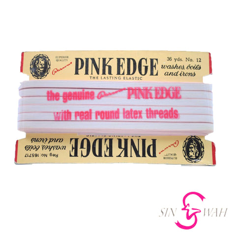 "Sin Wah Online - ""Pink Edge"" Superior Quality Elastic"
