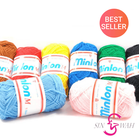 Sin Wah Online - Minlon® M Crochet Knitting (Single Color)