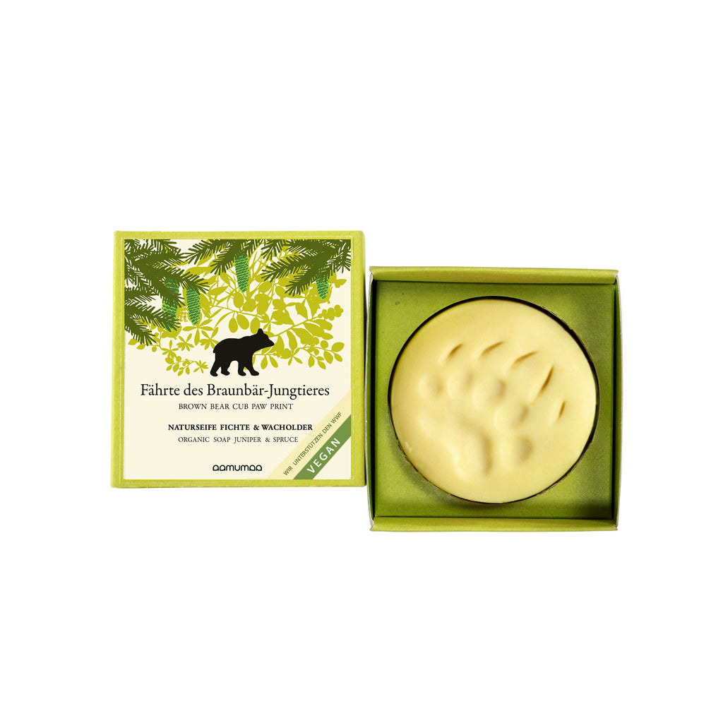 Juniper & Spruce soap BEAR
