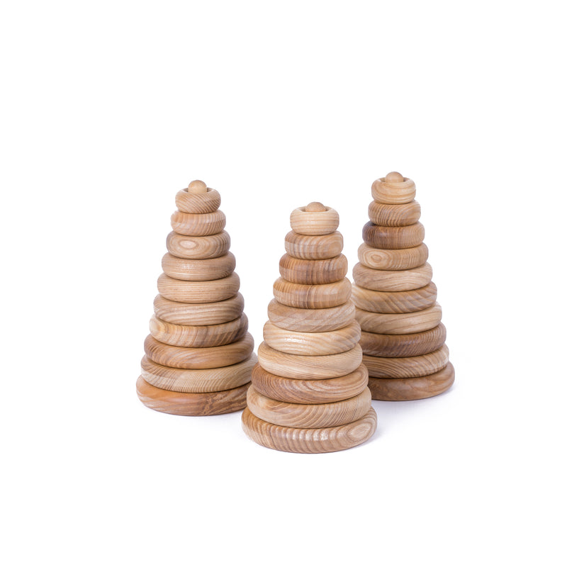 Wooden pyramid ROUND mini
