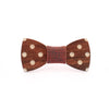 Wooden bow tie ROCKABILLY