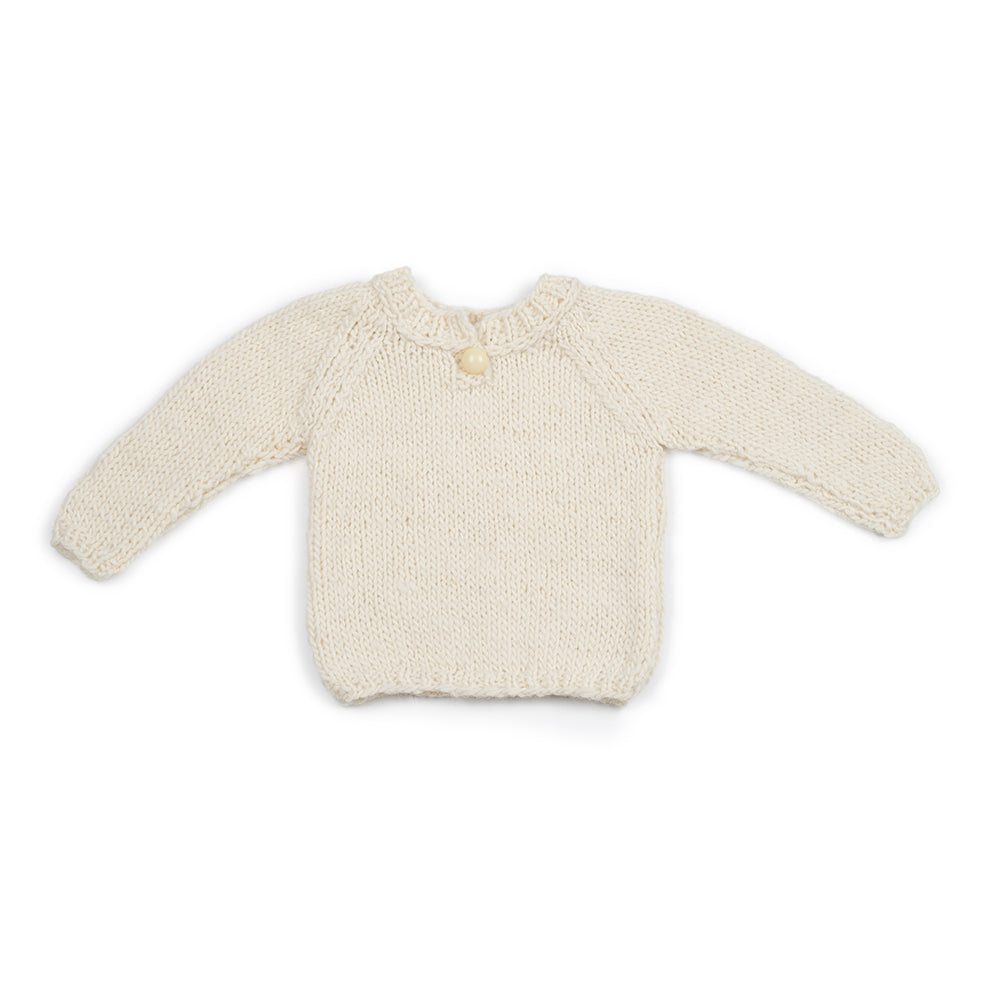 Wool jumper NATURAL