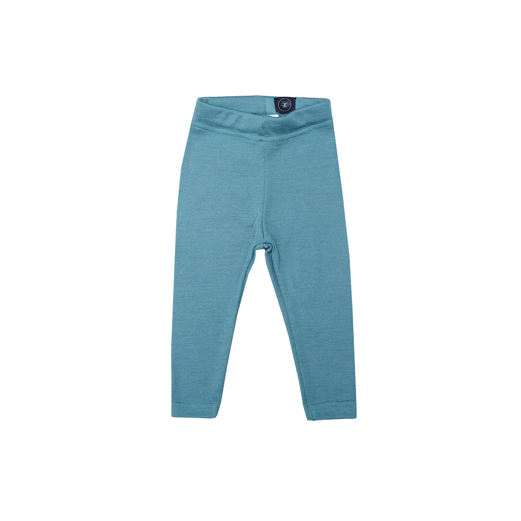 Woolen baby leggings SEA PINE