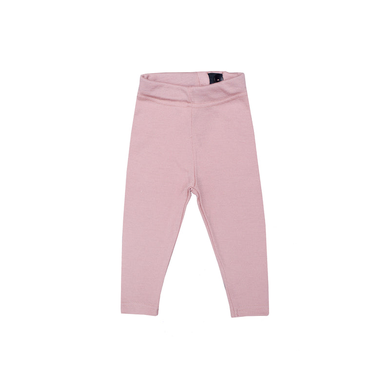 Woolen baby leggings PINK