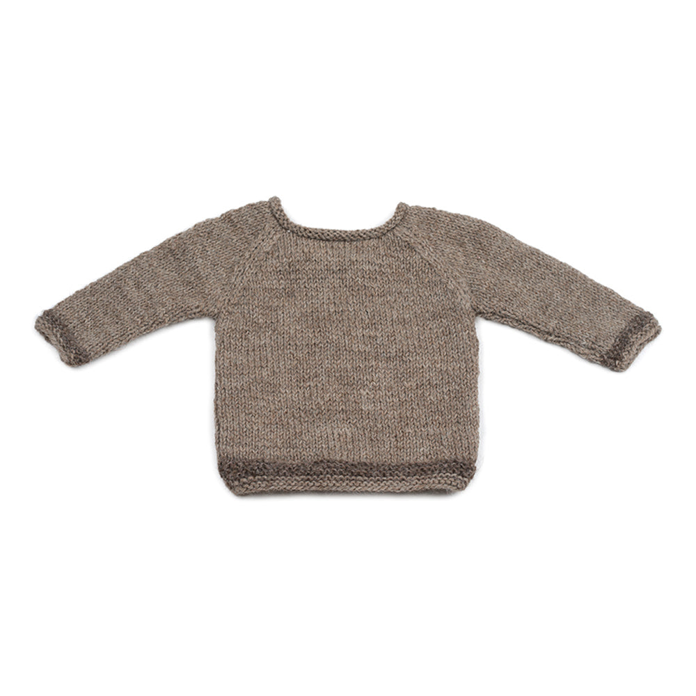 Wool jumper WALNUT