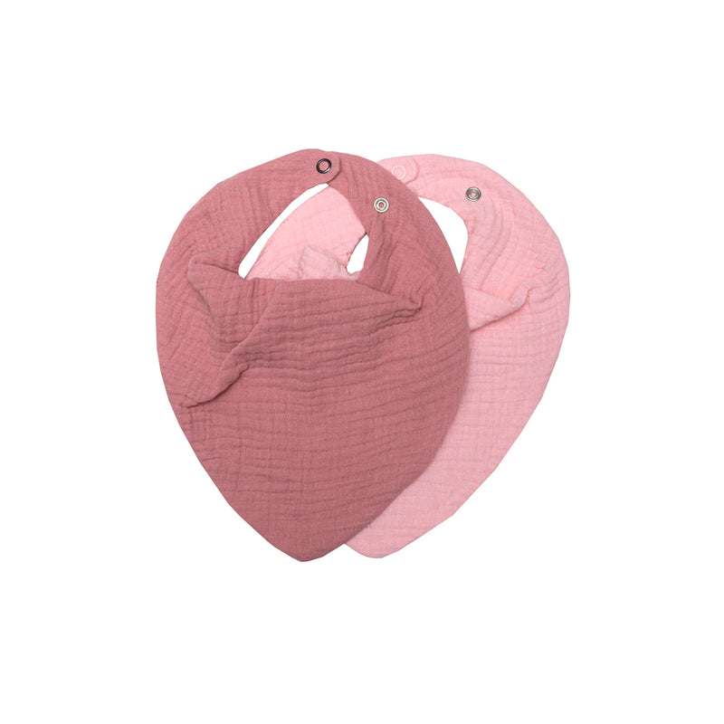 Muslin bib set | ROSE & BLUSH