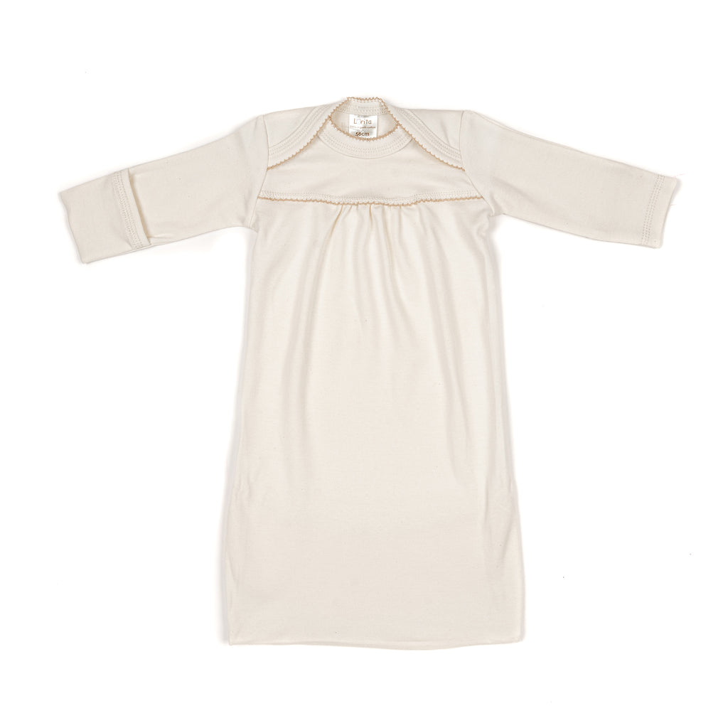 Organic cotton sleeping bag ECRU