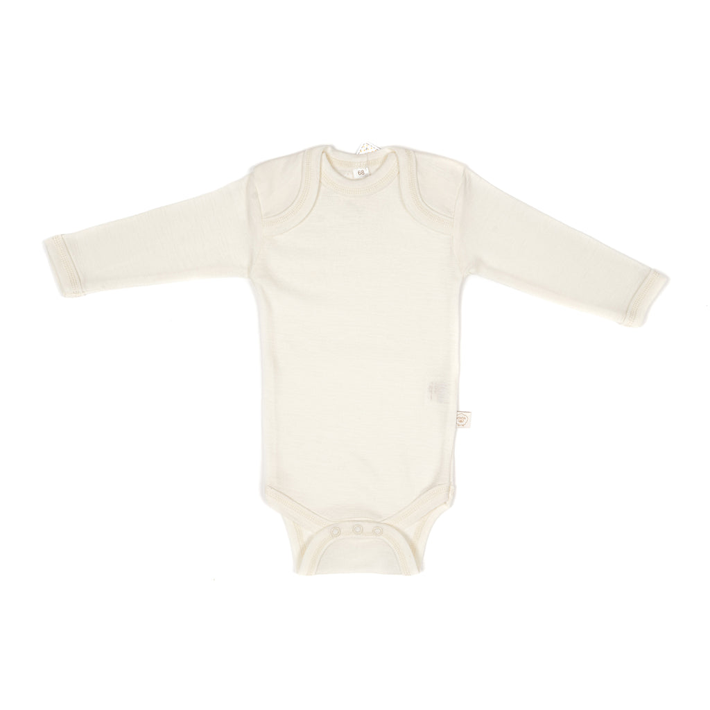 Merino wool & silk body ECRU