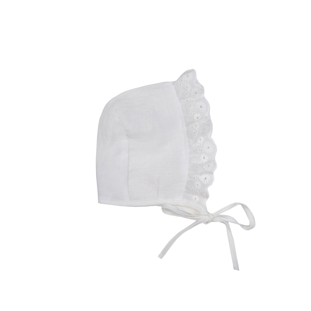 Linen bonnet PARIS