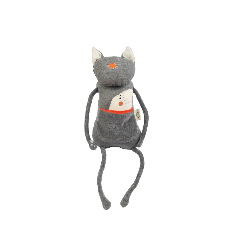 Organic soft toy CAT